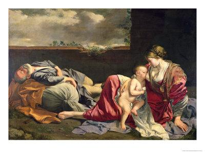 The Rest on the Flight into Egypt, 1628