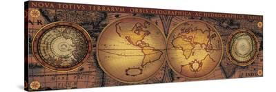 Orbis Geographica II--Stretched Canvas Print