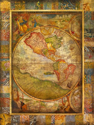 Orbis Terra-Douglas-Art Print