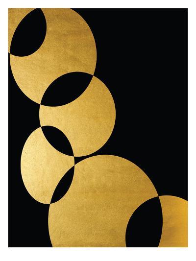 Orbital In Gold-Khristian Howell-Art Print