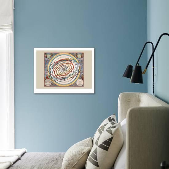 Orbium Planetarum Terram Art Print Andreas Cellarius Art Com