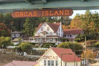 Orcas Hotel, Boutique Hotel on Orcas Island, San Juan Islands, Wa-Stuart Westmorland-Photographic Print