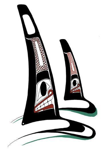 Orcas-Danny Dennis-Collectable Print