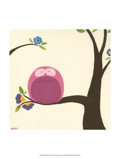 Orchard Owls VI-Erica J^ Vess-Art Print