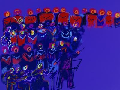 Orchestra-Diana Ong-Giclee Print
