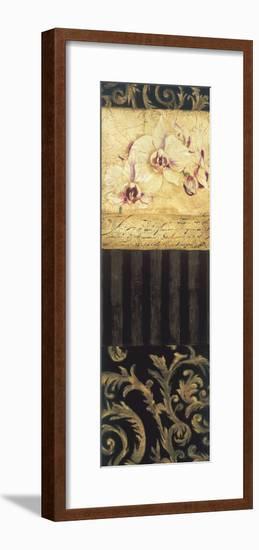Orchid Brocade II-Elizabeth Jardine-Framed Giclee Print