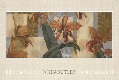 Orchid Screens II-John Butler-Art Print