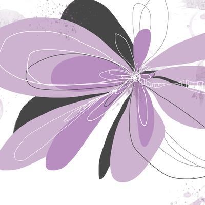 Orchid Undone - One-Jan Weiss-Art Print