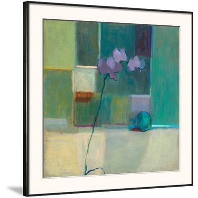 Orchid With Lime-Ele Pack-Framed Giclee Print