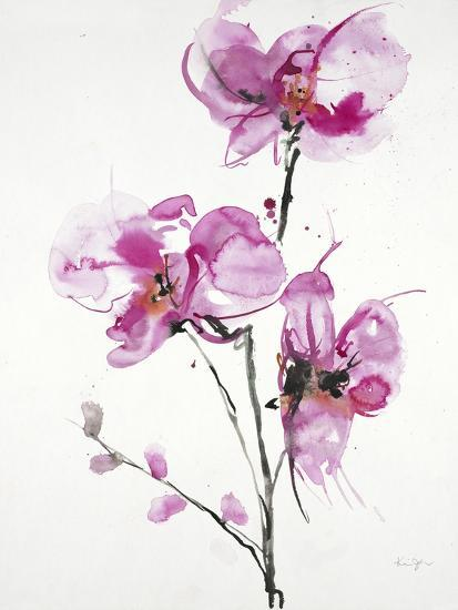 Orchids 1-Karin Johannesson-Art Print