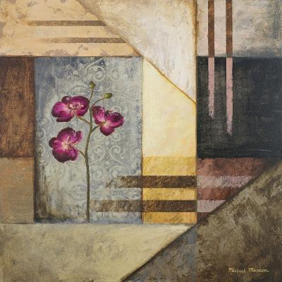 Orchids and Shapes II-Michael Marcon-Premium Giclee Print