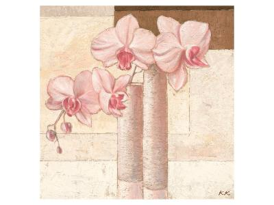 Orchids in Love 1-Karsten Kirchner-Art Print