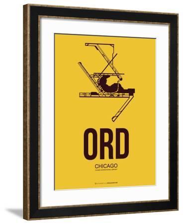 Ord Chicago Poster 1-NaxArt-Framed Art Print