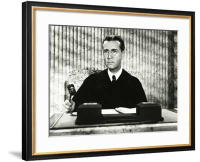 Order in the Court--Framed Photo
