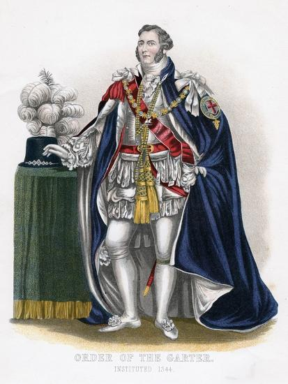 Order of the Garter, 19th Century--Giclee Print