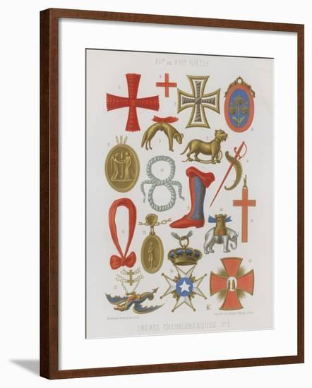 Orders of Knights--Framed Giclee Print