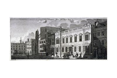 Ordnance Office for the Palace of Westminster, Old Palace Yard, Westminster, London, 1783-John Carter-Giclee Print