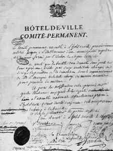Ordre de démolition de la Bastille
