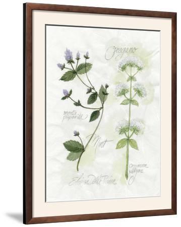 Oregano and Mint-Elissa Della-piana-Framed Photographic Print