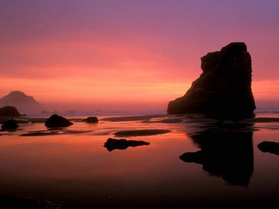 Oregon Coast at Sunset, USA-Marilyn Parver-Photographic Print