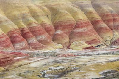 Oregon, John Day Fossil Beds National Monument. Landscape of Painted Hills Unit-Jaynes Gallery-Photographic Print