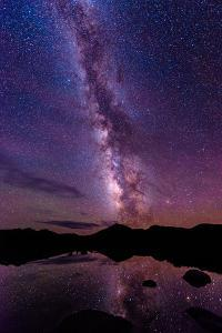 Milky Way Reflections by Oregon Photo by Matt Payne of Portland