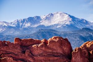 Pikes Peak and the Kissing Camels by Oregon Photo by Matt Payne of Portland