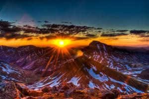 Uncompahgre at Sunrise by Oregon Photo by Matt Payne of Portland