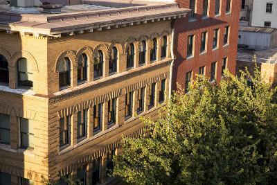 Oregon, Portland. Building Details in Downtown-Brent Bergherm-Photographic Print