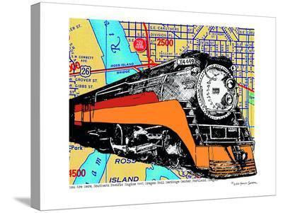 Oregon Rail Heritage Center--Stretched Canvas Print