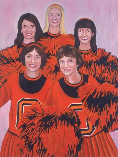 Oregon State Cheerleaders, 2002-Joe Heaps Nelson-Giclee Print