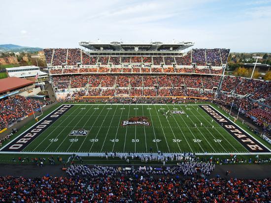 Oregon State University - Reser Stadium on Game Day Photo by | Art com