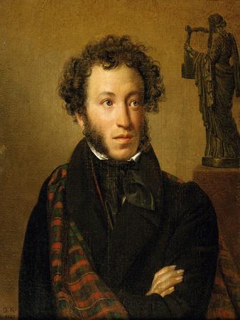 Portrait of A. S. Pushkin