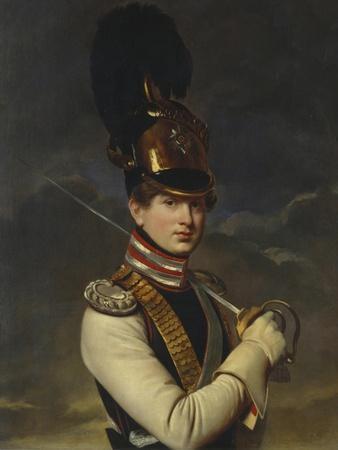 Portrait of Count Nikita Petrovich Trubetskoy (1804-188), 1826