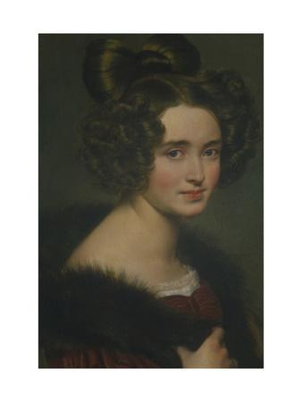 Portrait of Olimpiada Ryumina, 1826
