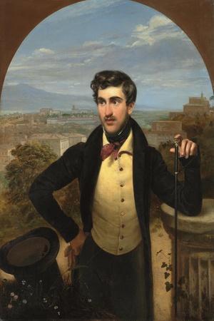 Portrait of Prince Mikhail Alexandrovich Galitzine (1804-1860), 1833