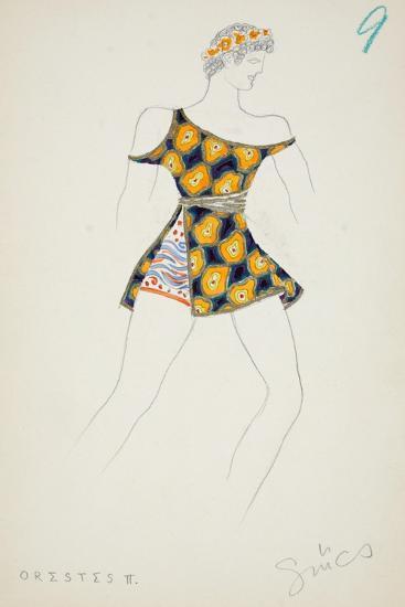 Orestes II, 1928--Giclee Print