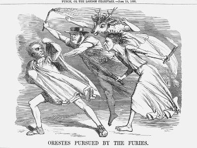 Orestes Pursued by the Furies, 1858--Giclee Print