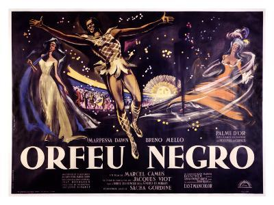 Orfeu Negro-Georges Allard-Giclee Print
