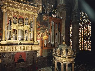 Organ from Presbytery, Milan Cathedral, Italy, 16th Century--Giclee Print