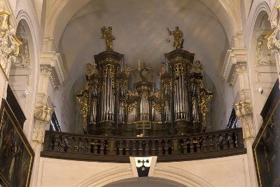 Organ in the Church of St. Gall--Photographic Print