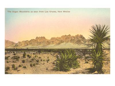 Organ Mountains, Las Cruces, New Mexico--Art Print