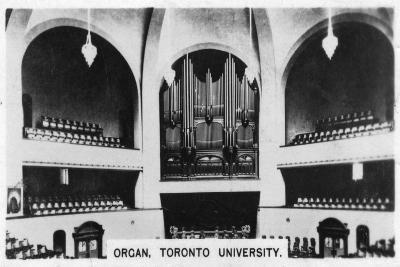 Organ, Toronto University, C1920S--Giclee Print