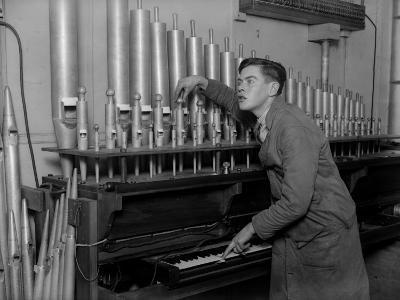 Organ Tuner--Photographic Print