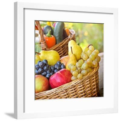 Organic Food - Healthy Food-lola1960-Framed Photographic Print