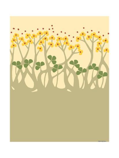 Organic Grove III-Vanna Lam-Art Print