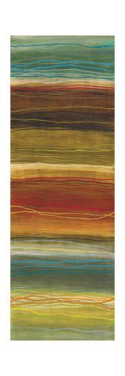 Organic Layers Panel II - Stripes, Layers-Jeni Lee-Premium Giclee Print