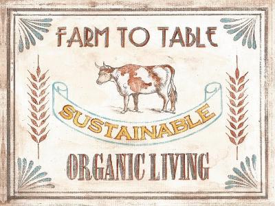 Organic Living-Catherine Jones-Art Print