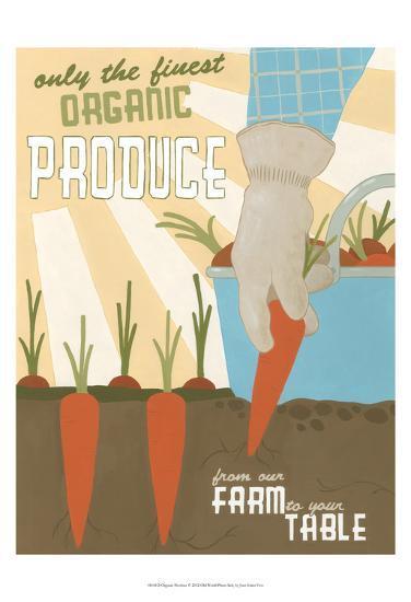 Organic Produce-Erica J^ Vess-Art Print