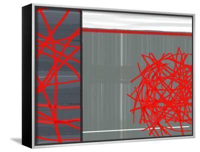 Organized Chaos 3-NaxArt-Framed Canvas Print